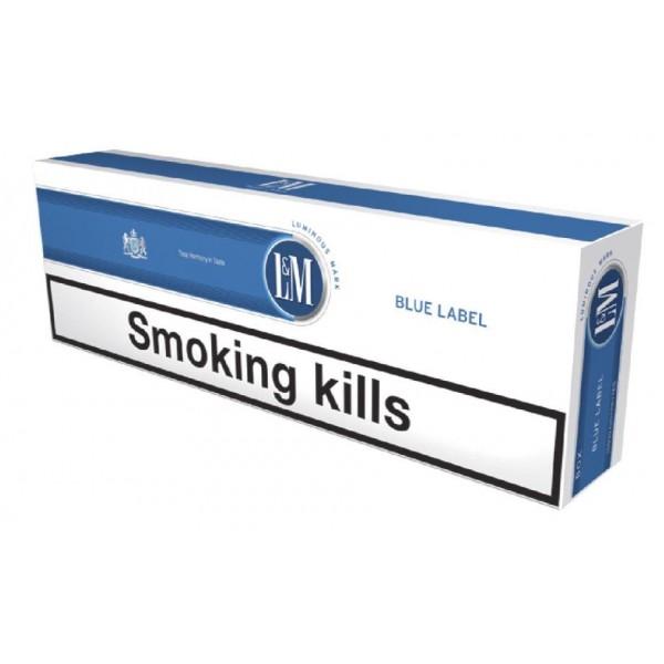 L&M Blue Label KS Box