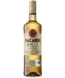 Bacardi Gold - Carta Oro